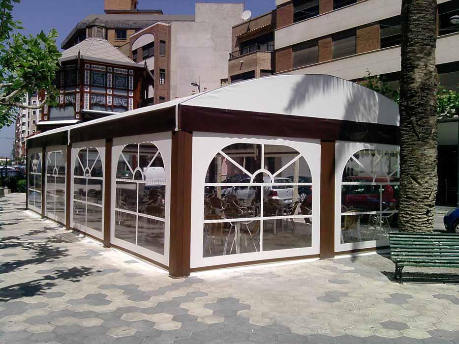 Terrazas para fumadores en Castellón