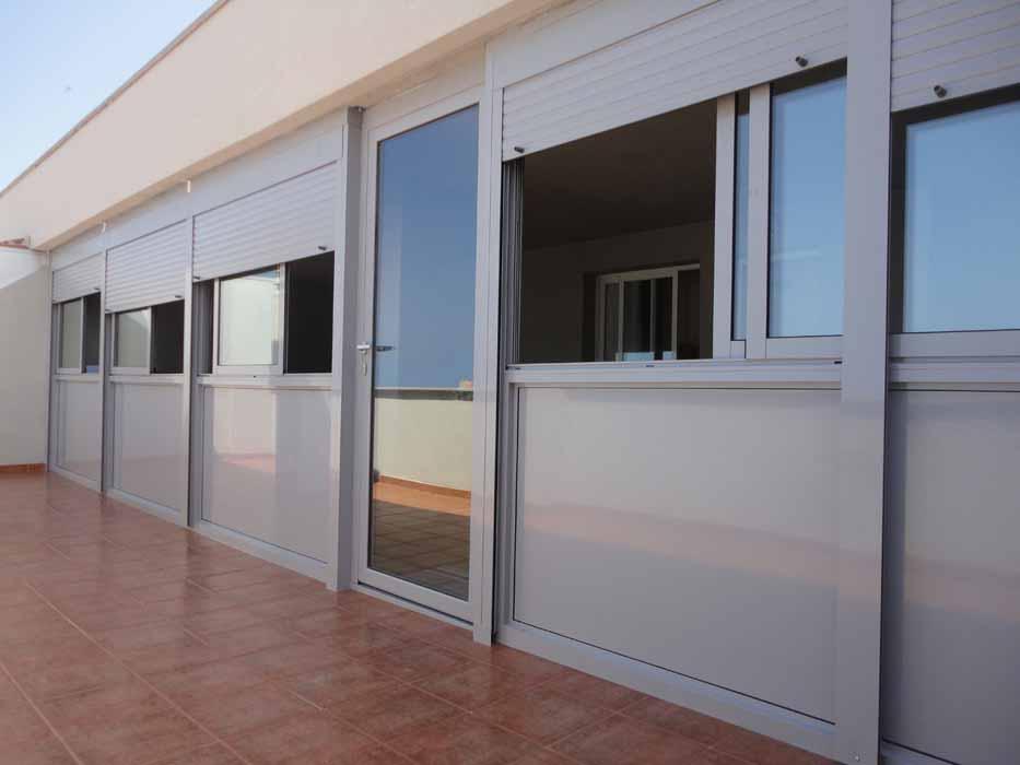 Puertas y ventanas de aluminio y pvc en castell n toldos - Puertas de aluminio para terrazas ...